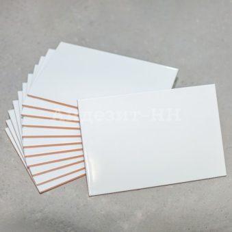 Глазурованная плитка белая