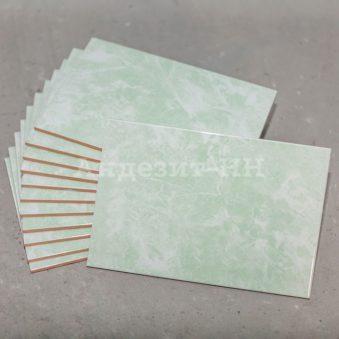 Глазурованная плитка зеленый мрамор